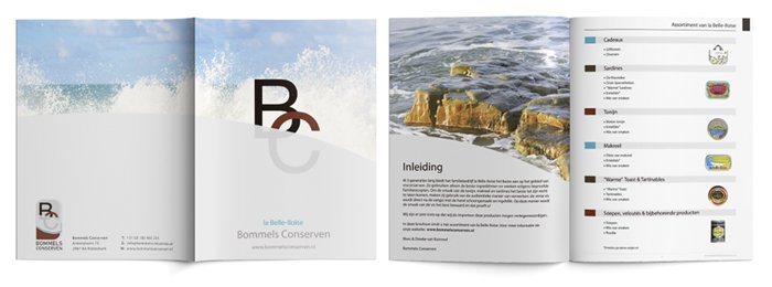 Lay out - brochure ontwerp